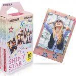 6 Rockin' Fuji Instax Mini Film with Different Colorful Borders