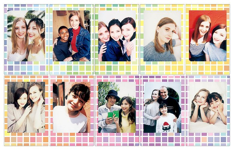 Fuji Instax Stained Glass Mini Film ten print pack