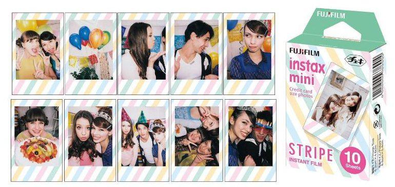 Fuji Instax Stripe Mini Film ten print pack