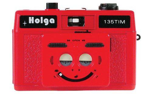 Holga 135Tim Plastic Camera (violet)