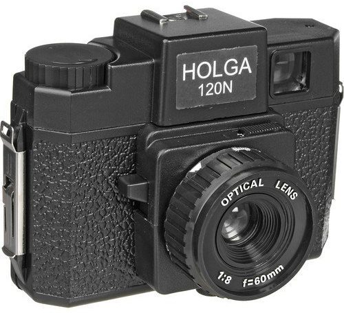 Holga Commando Holgawood Collection Camouflage Plastic Camera