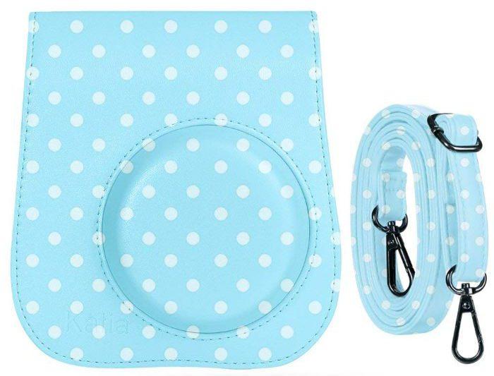 Katia PU Leather Fuji Fujifilm Instax Mini 8 Case Bag