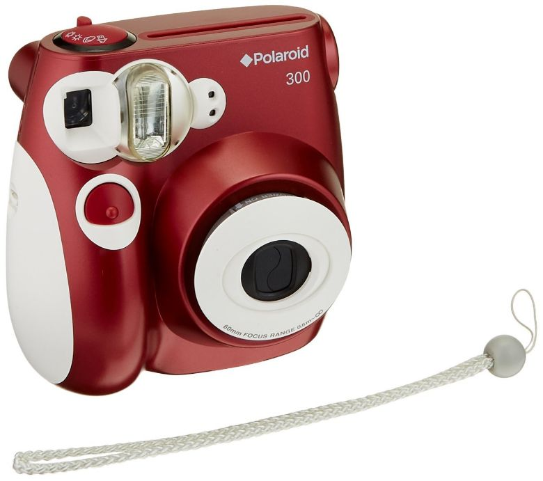 Polaroid 300 Instant Camera PIC-300 Red