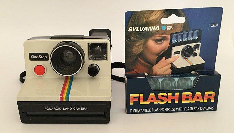 Polaroid OneStep SX-70 WhiteRainbow Camera